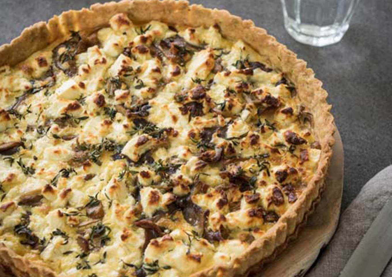 The Ultimate Mushroom Tart