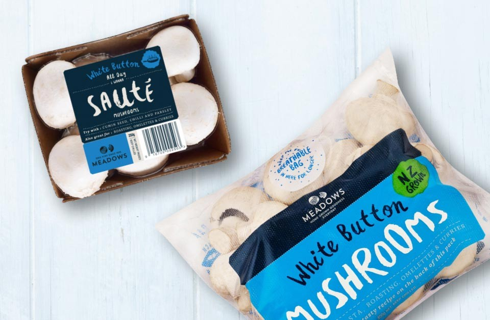 Meadow Mushrooms: Did you know the plastic wrap that protects and keeps our mushrooms fresher for longer?