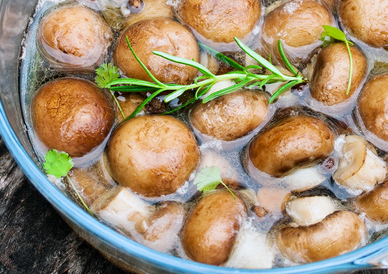 Basic Marinated Mushrooms