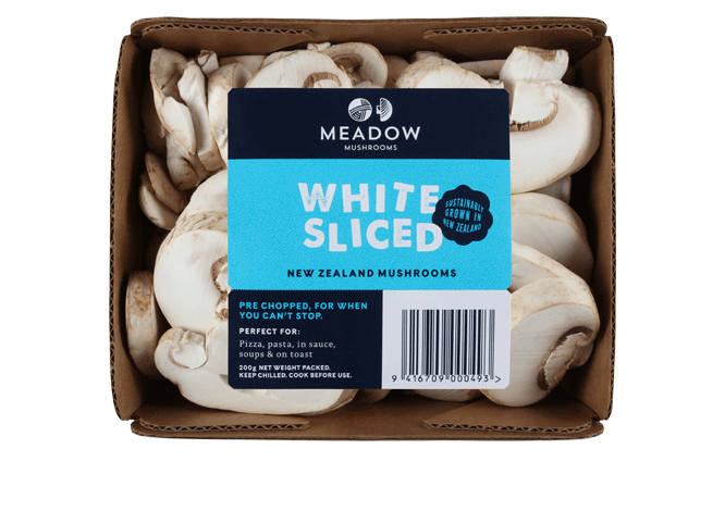 White Sliced