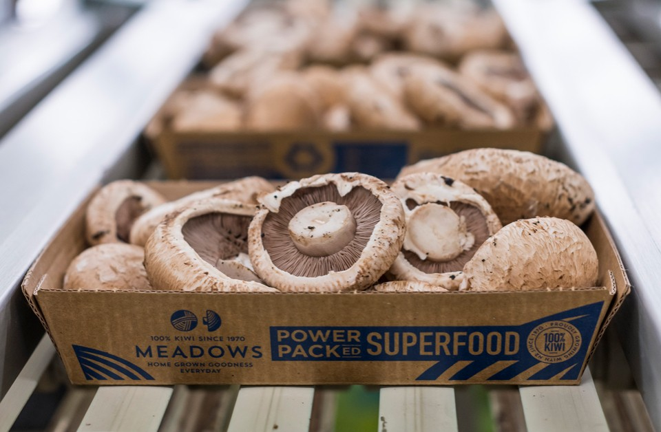 Meadow Mushrooms: Our work's not done yet.