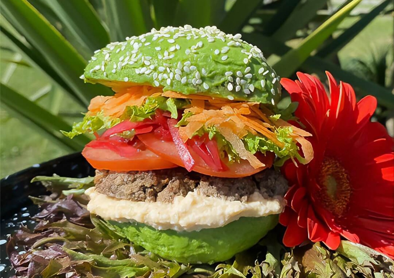 My Not So Avo-rage Blended Burger - by Rosie Wells